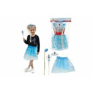 Kostým/Sukně princezna Ledové království s doplňky v sáčku