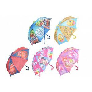 Deštník 55 cm 5 druhů v sáčku