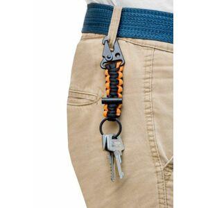 Přívěsek na klíče pro přežití oranžová