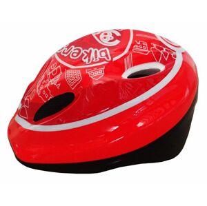 Brother 7327 Cyklistická dětská helma červená/bílá velikost M(52-56 cm) 2014
