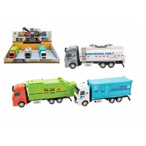 Kamion kov/plast na zpětné natažení 3 druhy
