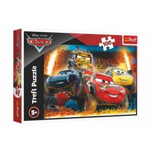Trefl Disney Cars 3/Extrémní závod 41 x 27,5 cm v krabici 29 x 19 x4cm 100 dílků