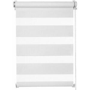 Miadomodo 74218 Dvojitá roleta, 120 x 230 cm, bílá