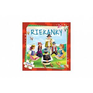 Puzzle kniha Riekanky 17x17cm 6x9 dielikov SK verze