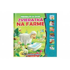 Zvuková kniha Zvieratká na farme SK verzia 20x20cm