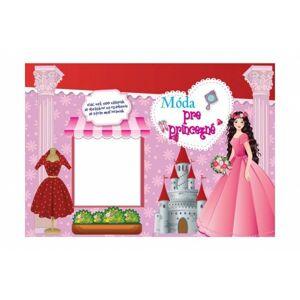 Teddies Blok Móda pre princezné so samolepkami