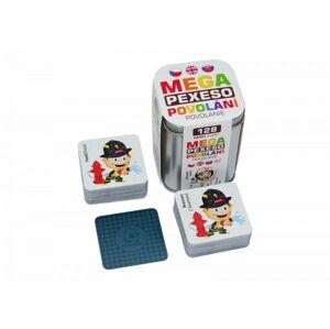 Mega Pexeso Povolání 128 karet v plechové krabičce Hmaťák