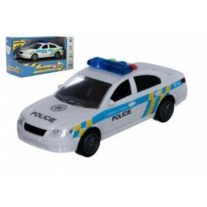 Auto policie plast 15cm na baterie se zvukem se světlem