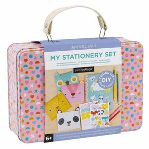 Sada Petitcollage Kreativní kufřík s přáníčky