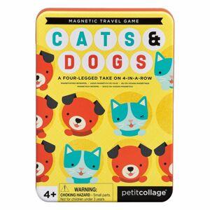 Hra Petit Collage Magnetická hra Kočky a psi