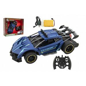 Auto na ovládání, vypouštějící páru, modré, 30 cm, od 6 let