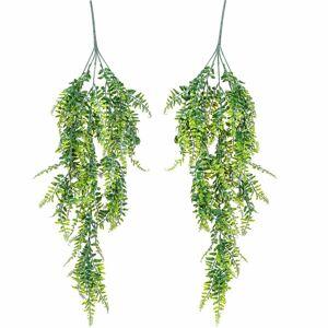PLANTASIA Umělá závěsná rostlina, 80cm, 2 kusy