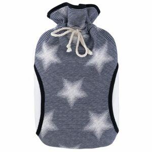 Termofor Hugo Frosch Eco Classic Comfort s fleecovým obalem a rukávníkem – hvězdy