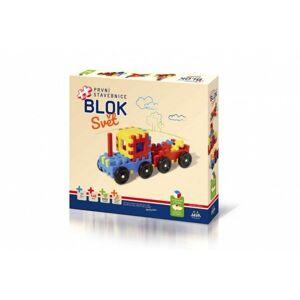 Stavebnice BLOK Svět plast 146ks v krabici 36x34x7cm