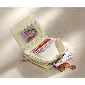 Magnet 3Pagen Patchworková peněženka, bílá-přírodní