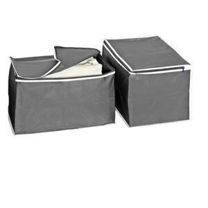 Magnet 3Pagen 2 úložné boxy šedá