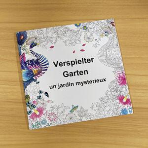"""Magnet 3Pagen Omalovánky """"Obyvatelé lesa"""" kouzelná zahrada 25x25cm"""