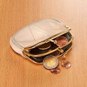 Magnet 3Pagen Kožená peněženka béžová