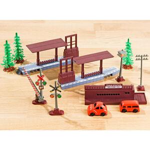Magnet 3Pagen 10dílná železniční stanice