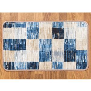 """Magnet 3Pagen Koberec """"Kostka"""", modro-béžová modrá-béžová 40x70cm"""