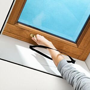 Magnet 3Pagen Síť proti hmyzu na střešní okno, černá