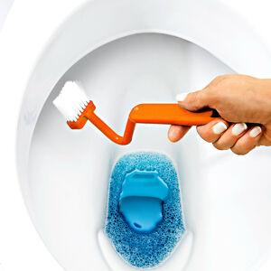Magnet 3Pagen Kartáček na okraj WC, oranžová