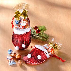 Magnet 3Pagen 1 vánoční pantofel s cukrovinkami