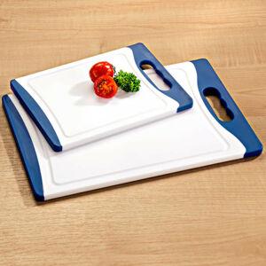 Magnet 3Pagen Krájecí prkénko bílá/modrá 29 x 20 cm