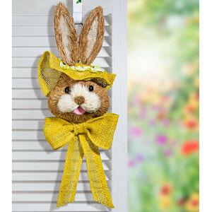 """Magnet 3Pagen Dekorace na dveře """"Zajíc"""", žlutá"""