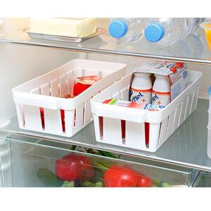 Magnet 3Pagen 2 koše do lednice, bílá