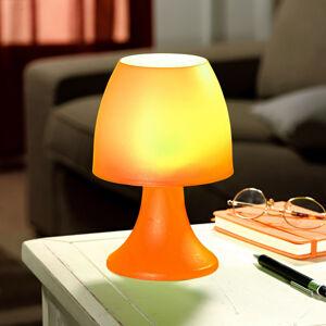 Magnet 3Pagen Stolní lampička na 6 LED diod, oranžová