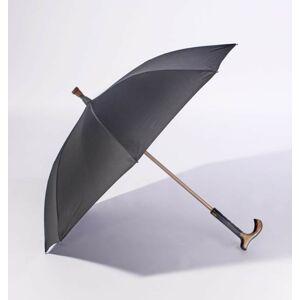 Magnet 3Pagen Vycházková hůl a deštník 2 v 1 černá