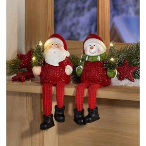 Magnet 3Pagen Zářící figurky Santa Claus výška 18,5cm
