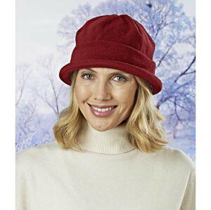 Magnet 3Pagen Fleecový klobouk bordó
