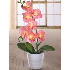 """Magnet 3Pagen LED dekorace """"Svíticí Orchidej"""""""