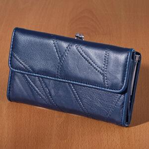 Magnet 3Pagen Patchworková peněženka nám.modrá