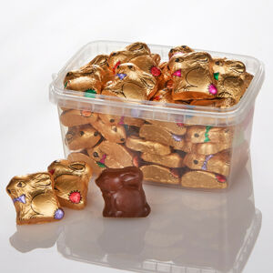 Magnet 3Pagen 30 čokoládových zajíčků v krabičce