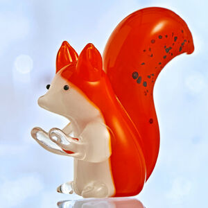 """Magnet 3Pagen Skleněná miniatura """"Kůň"""" veverka výška 4,6 cm"""