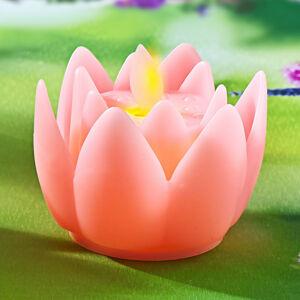 Magnet 3Pagen LED květ růžová