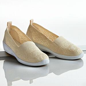 """Magnet 3Pagen Textilní obuv """"Josy"""" béžová 36"""