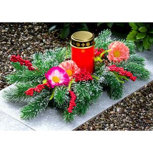 Magnet 3Pagen Dekorace na hrob s LED svíčkou