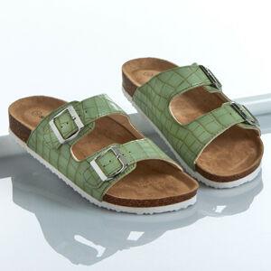 """Magnet 3Pagen Pantofle """"Sonja"""" zelená 36"""