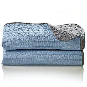 Magnet 3Pagen Přehoz na postel modrá 170x250cm