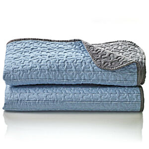 Magnet 3Pagen Přehoz na postel modrá 250x250cm