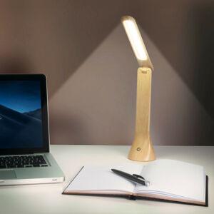 Magnet 3Pagen LED stolní lampa, dřevěný vzhled