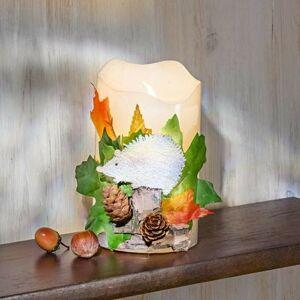 Magnet 3Pagen LED svíčka s ježkem