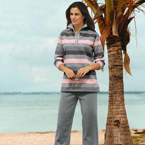 Magnet 3Pagen Tričko a kalhoty pro volný čas šedá/růžová S